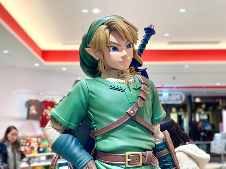 Link statue in Nintendo Tokyo, The Legend of Zelda