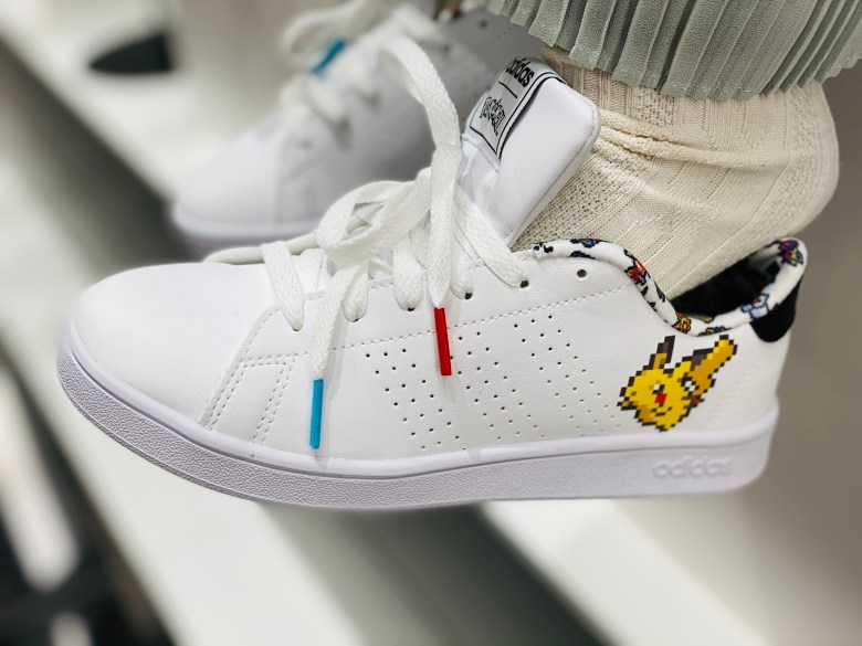 Pokemon Pikachu Adidas Shoes