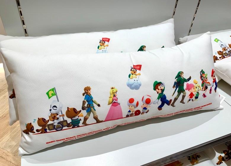 Nintendo Tokyo cushion