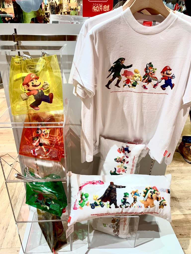 Nintendo Tokyo, Super Mario Merchandise