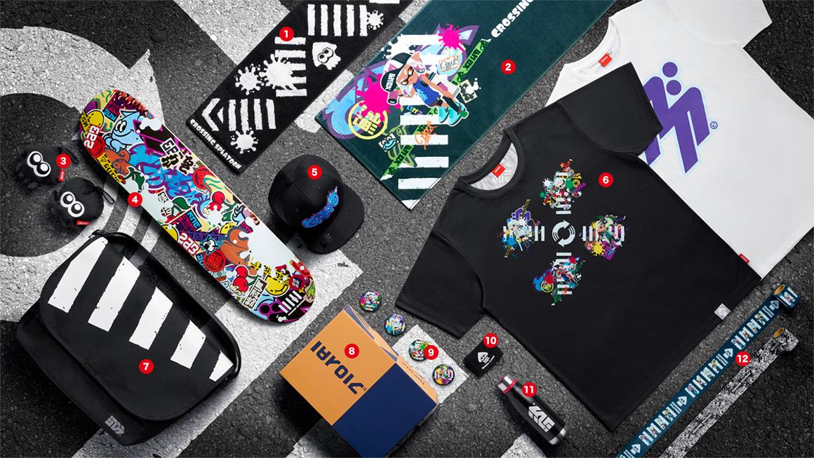 Splatoon Merchandise